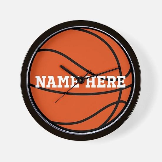 Customize a Basketball Wall Clock