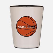 Customize a Basketball Shot Glass