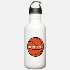 Customize a Basketball Water Bottle