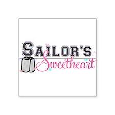 Sailor's Sweetheart Rectangle Sticker