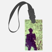 Mysterious Figure Luggage Tag