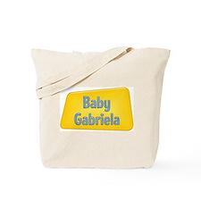 Baby Gabriela Tote Bag