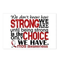 MDS How Strong We Are Postcards (Package of 8)