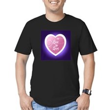 Live To Love On Purple T-Shirt