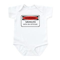 Attitude Mexican Infant Bodysuit