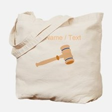 Custom Gavel Tote Bag