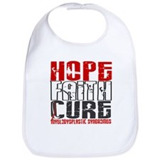 MDS Hope Faith Cure Bib