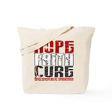 MDS Hope Faith Cure Tote Bag