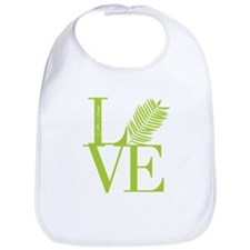 Palm Sunday Love Icon Bib