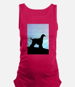 afghan blue sunset tall.png Maternity Tank Top