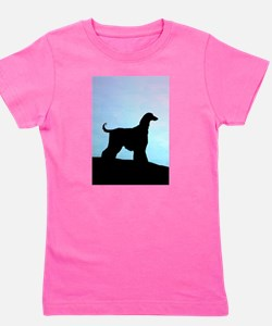 afghan blue sunset tall.png Girl's Tee