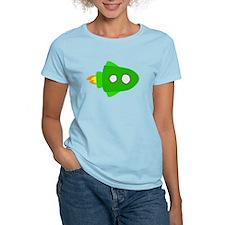 Green Rocket Ship T-Shirt