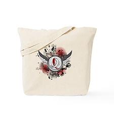 MDS Grunge Ribbon Wings Tote Bag