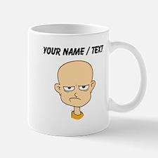 Custom Angry Bald Man Mugs