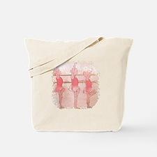 Pink Ballarinas Tote Bag