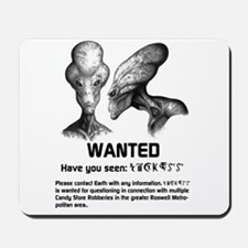 Universe's Most Wanted Grey Mousepad