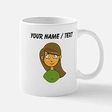 Custom Cartoon Girl Mugs