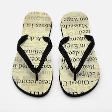 June 4th Flip Flops
