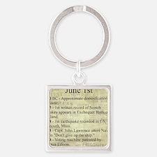June 1st Keychains