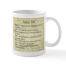 June 1st Mugs