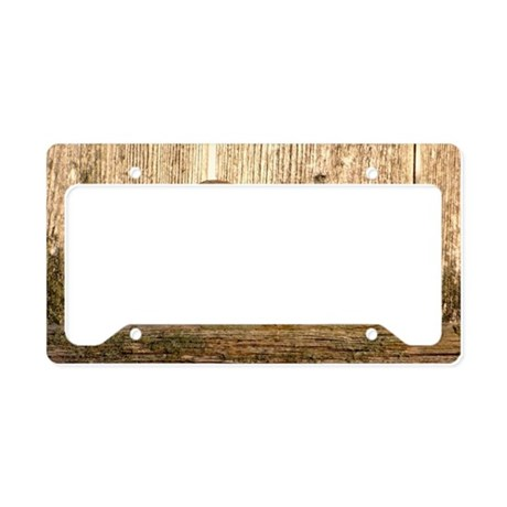Sparrow in the Sun License Plate Holder
