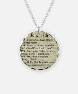 June 17th Necklace