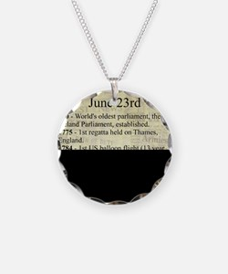 June 23rd Necklace