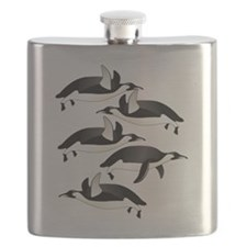 flying penquins Flask