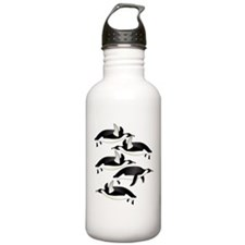 flying penquins Water Bottle