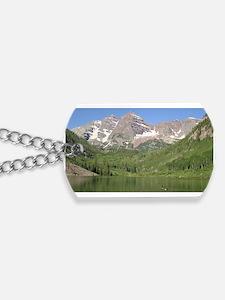 Maroon Bells, Aspen, Colorado Dog Tags