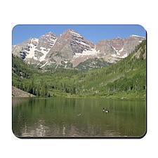 Maroon Bells, Aspen, Colorado Mousepad