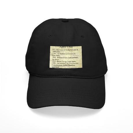 April 13th Black Cap