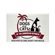 Dogs and Cats of the Dominican Republic Magnets