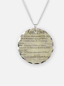 April 23rd Necklace