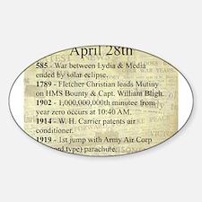 April 28th Decal