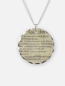 April 28th Necklace