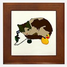 Lenny & Duckie! Framed Tile