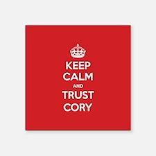 Trust Cory Sticker