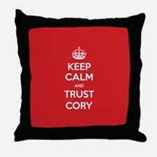 Trust Cory Throw Pillow