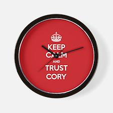 Trust Cory Wall Clock