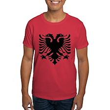 Albanian Eagle Emblem T-Shirt