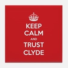Trust Clyde Tile Coaster