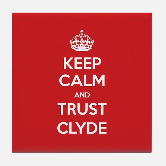 Trust Clyde Tile Coaster