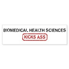 BIOMEDICAL HEALTH SCIENCES ki Bumper Bumper Sticker