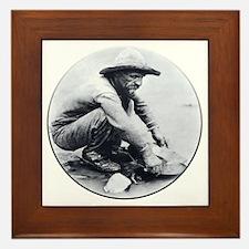 Prospector Round Framed Tile