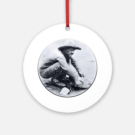 Prospector Round Round Ornament