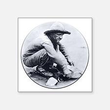 """Prospector Round Square Sticker 3"""" x 3"""""""