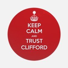 Trust Clifford Ornament (Round)