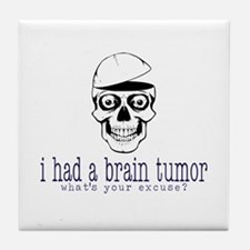 Brain Tumor Excuse Tile Coaster