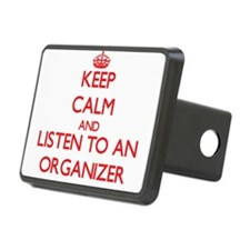 Keep Calm and Listen to an Organizer Hitch Cover